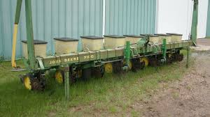 John Deere 7100 Planter by Jd Planters On North Dakota Farm Auction Sold To Online Buyer From