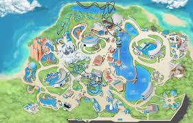 Printable Map Of Disney World Theme Park U0026 Attractions Map Seaworld Orlando