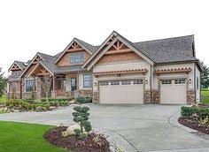 Two Story Craftsman House Plans Jaw Dropping Mix Of Ranch U0026 Craftsman Style Home Hq Plan