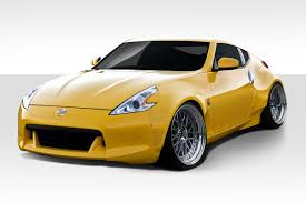 nissan 370z used india duraflex circuit fender flares kit 4 pc for nissan 370z 09 13 ed 11287