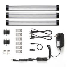 le led under cabinet lighting warm white 900lm total of 12w