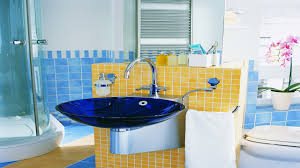blue and yellow bathroom ideas making the most ugly bathroom designs jolene