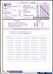 ตัวอย่างกระดาษคำตอบ 7 วิชาสามัญ ปีการศึกษา 2556
