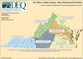 Map Of Virginia Counties And Cities by Virginia Deq Water Supply U0026 Water Quantity