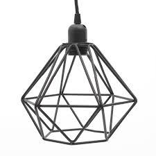 Black Pendant Light by Black Wire Pendant Light Miafleur Notonthehighstreet Com General