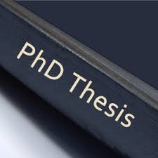 Phd thesis writing help india READ MORE