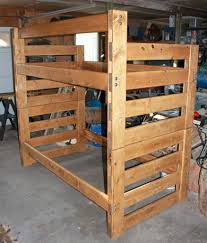 Diy Bunk Bed With Slide by Bunk Bed House Loft Woodworking Plans And Instructions Surripui Net
