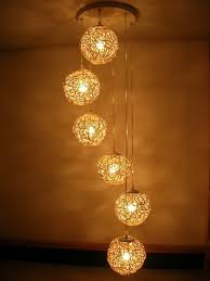do you like to have a handmade wooden lamp living room lighting