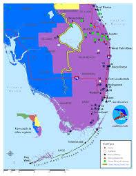 Map Of Jupiter Florida Southeast Florida Land Trails