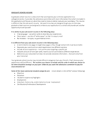 Application Resume Example by Graduate Application Resume Sample Curriculum Specialist