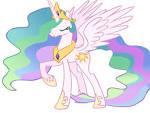 Nerdy Knitter Designs: Princess Celestia