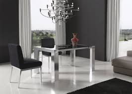 Contemporary Dining Room Table by Modern Extendable Dining Table Ef35 Modern Dining