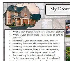 Dream house writing