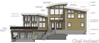 Floor Plans For Split Level Homes Chief Architect Home Design Software Samples Gallery