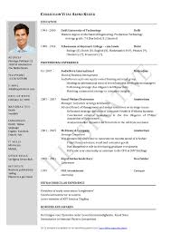 It Example Resume by Resume Sample First Job Sample Resumes Winsome Design It Manager
