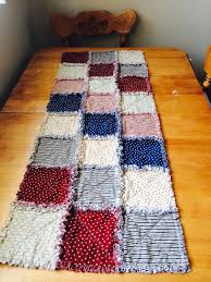 Quilted Table Runners by 133 Best Rag Quilt Table Runners Images On Pinterest Rag Quilt