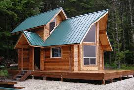 small log cabin homes small