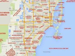 New Orleans Downtown Map by This Judgy Miami Map Will Offend Pretty Much Everyone Curbed Miami