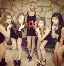 last minute pretty little liars group costume group