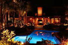 outdoor lighting for Orange County resident's pool and patio areas ...