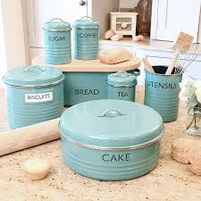 Green Canister Sets Kitchen Vintage Lincoln Beautyware Blue Mid Century Canister Set Ebay