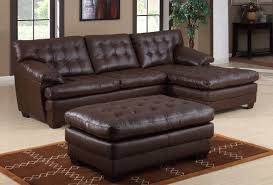 Small Sofa Sectional by Amazing Small Leather Sectional Sofa 31 With Additional Sofa Table