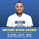 Russell Peters World Tour 2nd 8 April Show Ticketing Opens 3 Feb.