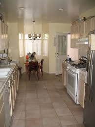Long Kitchen Island Designs by Best Ideas To Organize Your Narrow Kitchen Designs Narrow Kitchen