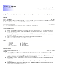 Junior Accountant Resume Sample by 28 Entry Level Accounting Resume Objective Accounting Job