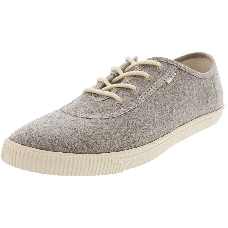 Toms Carmel Drizzle Grey Ankle-High Slip-On Shoes 6M
