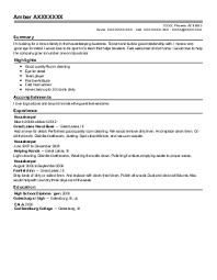 Housekeeping executive recommendation letter Breakupus Stunning Rsum Templates Tailored For Your Job Novorsum Breakupus  Entrancing Free Resume Samples Amp Writing
