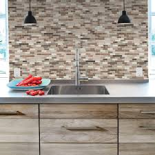 smart tiles muretto durango 10 20 in w x 9 10 in h peel and