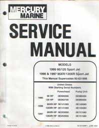 28 95 mercruiser service manual 124952 sell used mercury