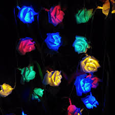 Blue Led String Lights by Online Get Cheap Light Blue Roses Aliexpress Com Alibaba Group