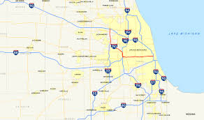 Map Of Wisconsin And Illinois by Interstate 290 Illinois Wikipedia