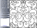 Generator of Patterns of Wrought Iron. Program for automatic ...