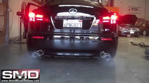 lexus isf mods iss forged lexus is f qes exhaust system youtube