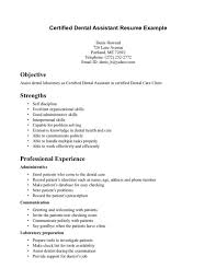 Administrative Assistant Resume Objective Examples by Dental Assistant Resume Examples Free Sample Cover Letter Resume