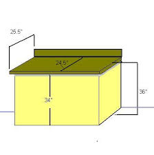 Height Of Kitchen Table by Kitchen Counter Height Measurements Diy Home Repair