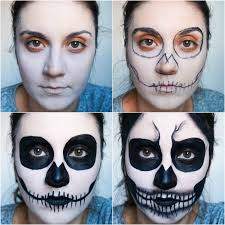 Skeleton Makeup For Halloween by Beauty With Charm Halloween Skull Makeup