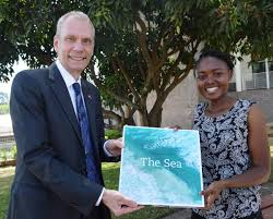 MASTER OF SCIENCE IN APPLIED PARASITOLOGY   School of Biological     School of Biological Sciences   University of Nairobi Ms  Unelker Maoga  a  nd year student studying Environmental Science Wins PHOTO and ESSAY Competition
