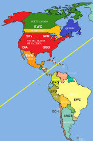 Map Of The South America by Why Investors Should Care About The Differences Between North And