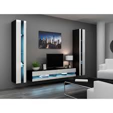 Living Room Furniture Tv Cabinet Justhome Set Vigo N Iii Living Room Furniture Set Wall Unit With