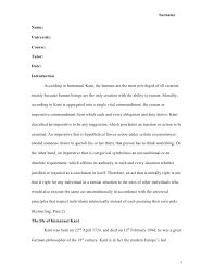 English Essay Outline Example Free Essays and Papers