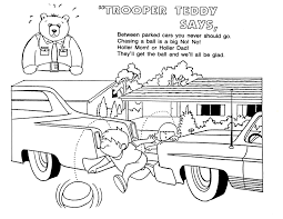 safety coloring pages eson me