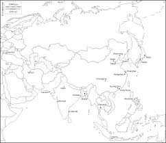 India Map Quiz by Southwest Asia Map Blank