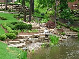garden rockery ideas amazing garden landscape ideas with rumblestone beds u0026 pond