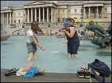 Calor recorde em Londres muda a cara da cidade