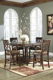 leahlyn counter height dining room set by ashley home gallery stores