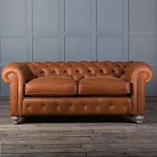 Chesterfield Sofa Leather by Vintage Leather Chesterfield Sofa By Rose Grey